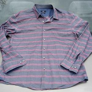 BOSS Hugo Boss Slim Fit Shirt Size XXL EUC